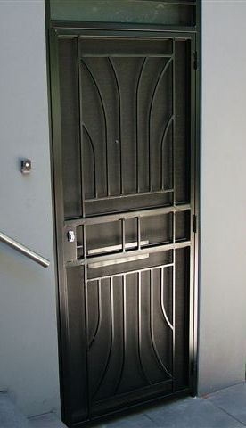solid steel door