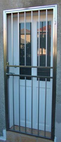 stainless stell door
